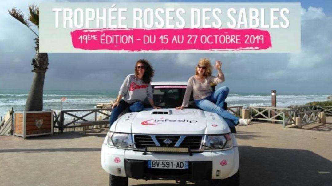 Infodip, sponsor du Trophee Roses des Sables